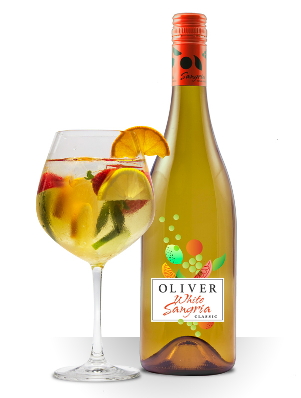 white sangria | Oliver Winery / Blog