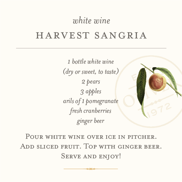 harvest sangria recipe card